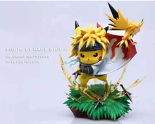 Load image into Gallery viewer, Third & Fourth Hokage Cosplay Pikachu - Naruto Pokemon Resin Statue - Made Studios [Pre-Order] - FavorGK