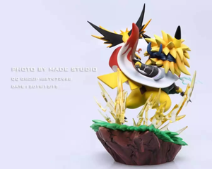 Third & Fourth Hokage Cosplay Pikachu - Naruto Pokemon Resin Statue - Made Studios [Pre-Order] - FavorGK