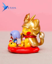 Load image into Gallery viewer, Golden Meowth Cosplay Pikachu - Pokemon Resin Statue - QN Studios [Pre-Order] - FavorGK