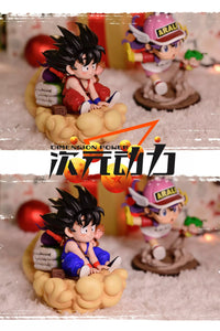 Back Home Childhood Goku - Dragon Ball Resin Statue - Dimension Power Studios [Pre-Order] - FavorGK