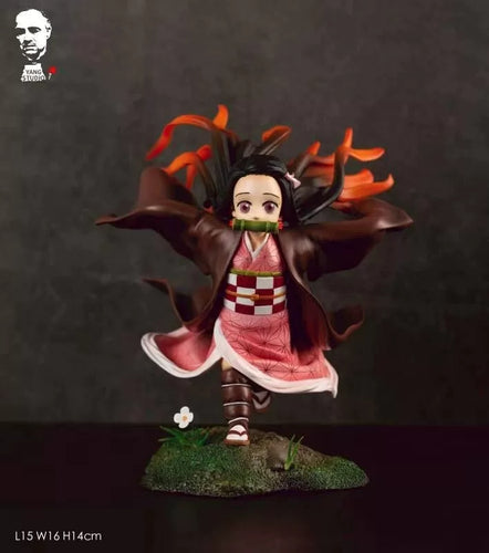 Running Kamado Nezuko - Demon Slayer: Kimetsu no Yaiba Resin Statue - Yang Studios [In Stock] - FavorGK
