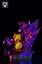 Load image into Gallery viewer, Gold Saint Virgo Shaka Cosplay Pikachu - Pokemon Gold Saint Resin Statue - MFC Studios [Pre-Order] - FavorGK