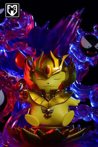 Gold Saint Virgo Shaka Cosplay Pikachu - Pokemon Gold Saint Resin Statue - MFC Studios [Pre-Order] - FavorGK