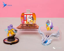 Load image into Gallery viewer, Ho-Oh Celebi Entei Raikou Suicune Cosplay Pikachu - Pokemon Resin Statue - QN Studios [Pre-Order] - FavorGK