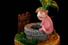 Load image into Gallery viewer, Slowpoke, Slowbro and Well - Pokemon Resin Statue - M5 Studios [In Stock] - FavorGK