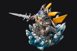 Arthas Menethil Cosplay Pikachu - Pokemon World of Warcraft Resin Statue - Peter.P Studios [Pre-Order] - FavorGK