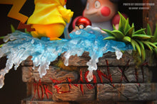 Load image into Gallery viewer, Mr. Mime is kidnapping Pikachu - Pokemon Resin Statue - Crescent-Studios [In Stock] - FavorGK