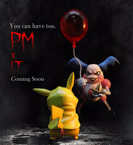 Mr. Mime is kidnapping Pikachu - Pokemon Resin Statue - Crescent-Studios [In Stock] - FavorGK