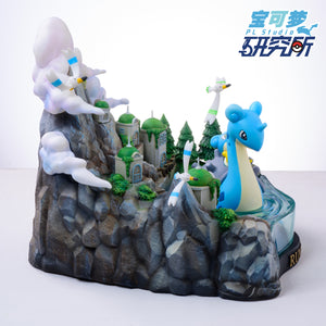 Leap Series Rune City - Lapras - Pokemon Resin Statue - PL Studios [Pre-Order] - FavorGK