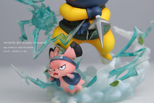 Load image into Gallery viewer, Tsunade/ Hatake Kakashi/ Uzumaki Naruto Cosplay Pikachu - Pokemon Resin Statue - MADE Studios [Pre-Order] - FavorGK
