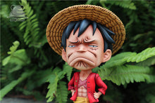 Load image into Gallery viewer, SD Scale Unhappy Luffy - ONE PIECE Resin Statue - Emoji Studios [Pre-Order] - FavorGK