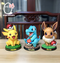 Load image into Gallery viewer, Totodile - Pokemon Resin Statue - EGGS Studios [Pre-Order] - FavorGK