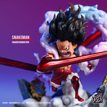 Load image into Gallery viewer, Snakeman Transformation Luffy - ONE PIECE Resin Statue - YZ Studios [Pre-Order] - FavorGK