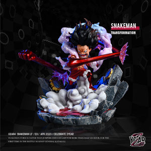 Snakeman Transformation Luffy - ONE PIECE Resin Statue - YZ Studios [Pre-Order] - FavorGK