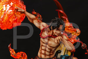 1/4 & 1/6 Scale Throne Portgas·D· Ace - ONE PIECE Resin Statue - PT-Studios [Pre-Order] - FavorGK