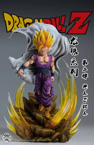 1/6 Scale Super Saiyan Son Gohan - Dragon Ball Resin Statue - Light Weapons Studios [Pre-Order] - FavorGK