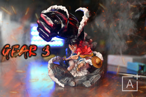 WCF Scale Gear Third Monkey D. Luffy - ONE PIECE Resin Statue - A Plus Studios [Pre-Order] - FavorGK