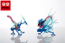 Load image into Gallery viewer, 1/20 Scale World Zukan Greninja, Ash's Greninja, Mega Gardevoir & Mega Gallade - Pokemon Resin Statue - KING Studios [Pre-Order] - FavorGK