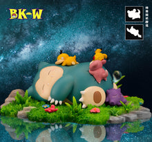 Load image into Gallery viewer, Good Night Snorlax - Pokemon Resin Statue - BK-W Studios [Pre-Order] - FavorGK