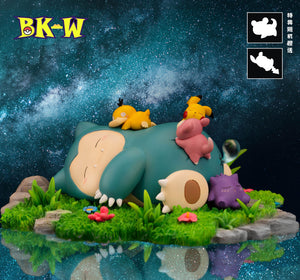Good Night Snorlax - Pokemon Resin Statue - BK-W Studios [Pre-Order] - FavorGK