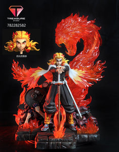 1/6 Scale Rengoku Kyoujurou - Demon Slayer: Kimetsu no Yaiba Resin Statue - Treasure-Studios [Pre-Order] - FavorGK