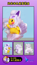 Load image into Gallery viewer, Ninetales Family Cosplay Pikachu - Pokemon Resin Statue - QN Studios [Pre-Order] - FavorGK