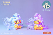 Load image into Gallery viewer, Alolan Ninetales Cosplay Pikachu - Pokemon Resin Statue - JF Studios [Pre-Order] - FavorGK