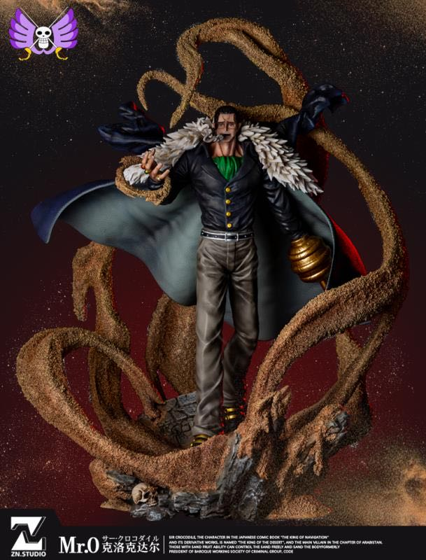 Erosion Cycle Sir Crocodile - ONE PIECE Resin Statue - ZN Studios [Pre-Order] - FavorGK