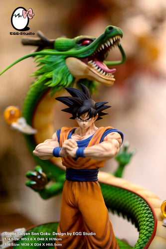 1/4 & 1/6 Scale Son Goku & Dragon - Dragon Ball Resin Statue - EGGS Studios [Pre-Order] - FavorGK