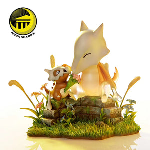 Cubone & Marowak - Pokemon Resin Statue - Moon shadow Studios [Pre-Order] - FavorGK