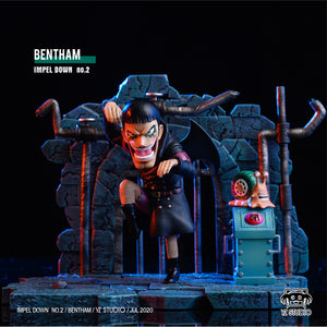 Bentham - ONE PIECE Resin Statue - YZ Studios [Pre-Order] - FavorGK