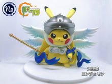 Load image into Gallery viewer, 3CM & 8CM Kabuterimon & Angemon Cosplay Pikachu - Pokemon Digimon Resin Statue - N2 Studios [Pre-Order] - FavorGK