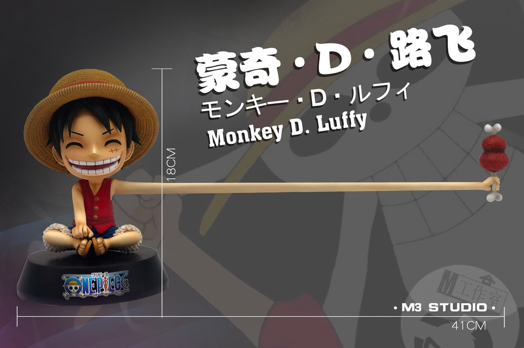 Sooooo Long! Little Luffy - ONE PIECE Resin Statue - M3 Studios [Pre-Order] - FavorGK