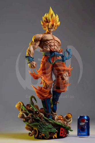 1/4 Scale Son Goku - Dragon Ball Resin Statue - Cartoon World Studios [Pre-Order] - FavorGK