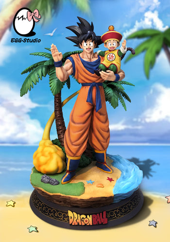 Son Goku & Son Gohan - Dragon Ball Resin Statue - EGGS Studios [Pre-Order] - FavorGK