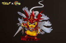 Load image into Gallery viewer, 1/3 Scale Dukemon Cosplay Pikachu - Pokemon Digimon Resin Statue - FYY Studios [Pre-Order] - FavorGK