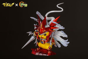 1/3 Scale Dukemon Cosplay Pikachu - Pokemon Digimon Resin Statue - FYY Studios [Pre-Order] - FavorGK