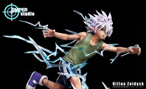 1/6 Scale Killua Zoldyck - HUNTER×HUNTER Resin Statue - Sniper Studios [Pre-Order] - FavorGK