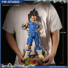 Load image into Gallery viewer, 1:1 & 1/4 Scale Vegeta & Vegeta Bust Statue - Dragon Ball Resin Statue - YW Studios [Pre-Order]