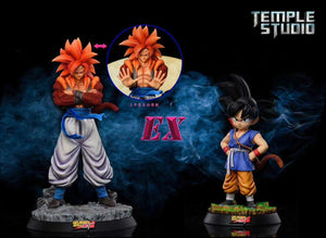 Son Goku & Vegeta & Gogeta - Dragon Ball GT Resin Statue - Temple Studios [Pre-Order]