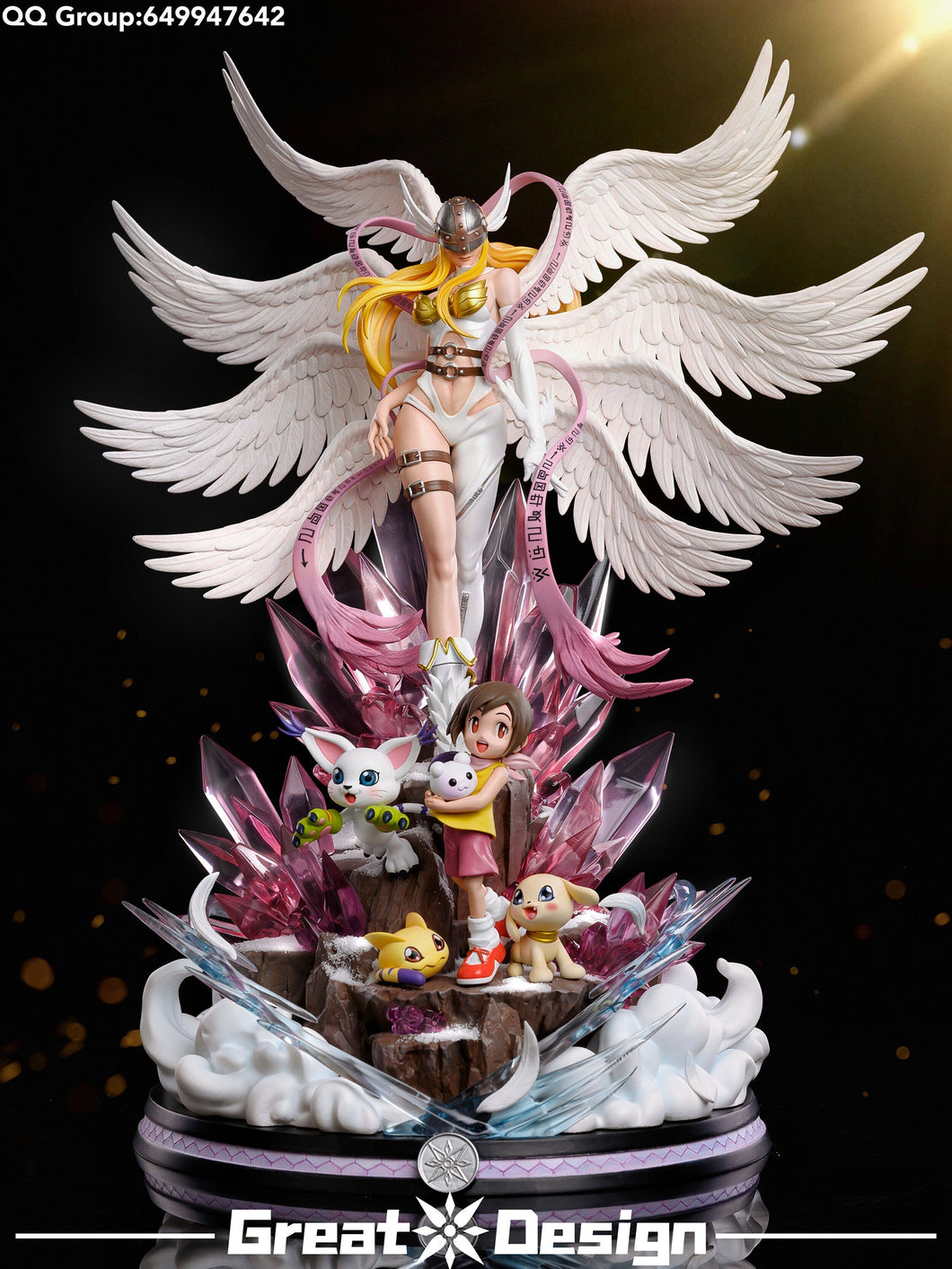 Angewomon - Digimon Resin Statue - GD Studios [Pre-Order]