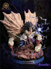 Load image into Gallery viewer, 1/5 Scale Cursed Seal Jutsu Uchiha Sasuke - Naruto Resin Statue - Dream Studios [Pre-Order]