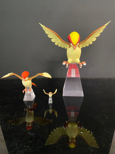 Flying Pidgey, Pidgeotto & Pidgeot - Private - Pokemon Resin Statue - SXG Studios [Pre-Order]