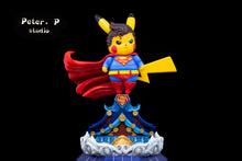 Load image into Gallery viewer, Superman Cosplay Pikachu - Pokemon Resin Statue - Peter.P Studios [Pre-Order]