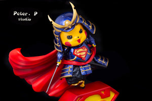 Superman Cosplay Pikachu - Pokemon Resin Statue - Peter.P Studios [Pre-Order]