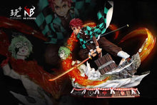 Load image into Gallery viewer, 1/4 & 1/6 Scale Kamado Tanjiro - Demon Slayer: Kimetsu no Yaiba Resin Statue - PT-Studios [Pre-Order]