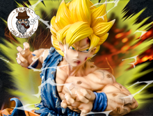 Load image into Gallery viewer, 1/6 Scale Super Saiyan Son Goku - Dragon Ball Resin Statue - Old BuddyGK Studios [Pre-Order]