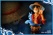 Load image into Gallery viewer, Wanted Pose Monkey D. Luffy Bust Statue - ONE PIECE Resin Statue - YW-Studios [Pre-Order]
