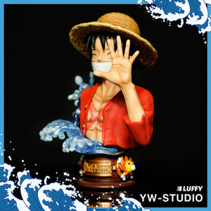 Wanted Pose Monkey D. Luffy Bust Statue - ONE PIECE Resin Statue - YW-Studios [Pre-Order]