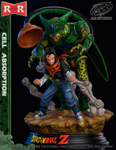 Cell Absorption - Dragon Ball Resin Statue - AR Studios [Pre-Order]